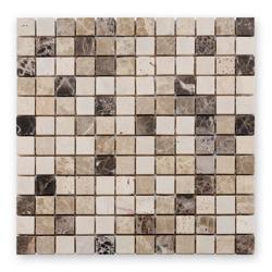 Bärwolf CM-09009 mozaika marmurowo-trawertynowa 30 x 30 cm