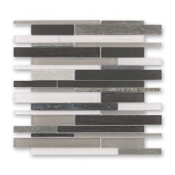 Bärwolf GL-14010 mozaika szklana / metalowa 31,0 x 30,2 cm