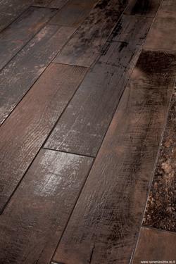 Serenissima Charwood Burned 18 x 118 cm - płytka gresowa drewnopodobna